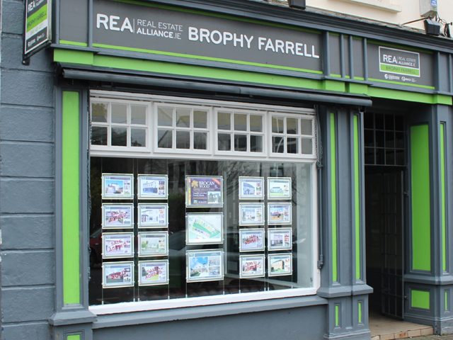 REA Brophy Farrell (Newbridge) Logo